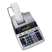 Canon Kalkulačka MP1211-LTSC, stříbrná, stolní s tiskem, dvanáctimístná, napájení ze sítě, záloha na