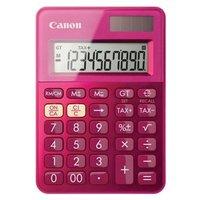 Canon Kalkulačka LS-100K, růžová, stolní, desetimístná