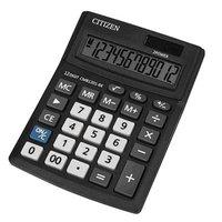 Citizen Kalkulačka CMB1201-BK, černá, stolní, dvanáctimístná, duální napájení