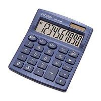 Citizen kalkulačka SDC810NRNVE, tmavě modrá, stolní, desetimístná, duální napájení