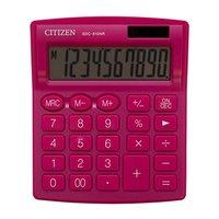 Citizen kalkulačka SDC810NRPKE, růžová, stolní, desetimístná, duální napájení
