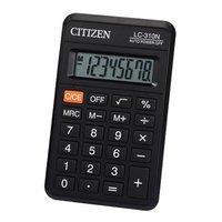 Citizen Kalkulačka LC310NR, černá, kapesní, osmimístná