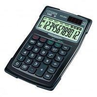 Citizen Kalkulačka WR3000, černá, stolní s výpočtem DPH, dvanáctimístná, vodotěsná, prachuodolná, au
