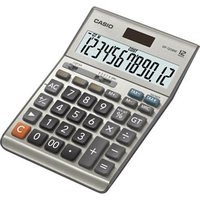 Casio Kalkulačka DF 120 B MS, stříbrná, stolní, dvanáctimístná, vodotěsná
