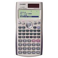 Kalkulačka Casio, FC 200 V, bílá, finanční s 4 řákovým displejem