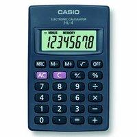 Casio Kalkulačka HL 4, černá, kapesní, osmimístná