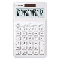 Casio Kalkulačka JW 200 SC WE, bílá, stolní, dvanáctimístná