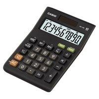 Casio Kalkulačka MS 10 B S, černá, stolní s převodem měn, výpočtem DPH,% včetně zisku