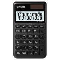 Casio Kalkulačka SL 1000 SC BK, černá, desetimístná, duální napájení