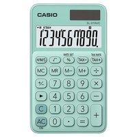 Casio Kalkulačka SL 310 UC GN, tyrkysová, desetimístná, duální napájení