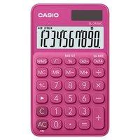Casio Kalkulačka SL 310 UC RD, tmavě růžová, desetimístná, duální napájení