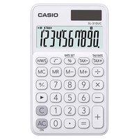 Casio Kalkulačka SL 310 UC WE, bílá, desetimístná, duální napájení