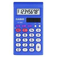 Casio Kalkulačka SL 450 S, modrá, kapesní, osmimístná