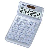 Casio Kalkulačka JW 200 SC BU, stříbrná, dvanáctimístná, duální napájení, sklápěcí displej