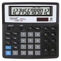 Rebell Kalkulačka RE-BDC312 BX, černá, stolní, dvanáctimístná