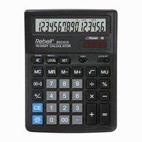 Rebell Kalkulačka RE-BDC616 BX, černá, stolní, šestnáctimístná