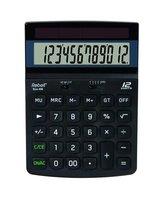 Rebell Kalkulačka RE-ECO 450 BX, černá, stolní, dvanáctimístná