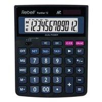 Rebell Kalkulačka RE-PANTHER 12 BX, černá, stolní, dvanáctimístná