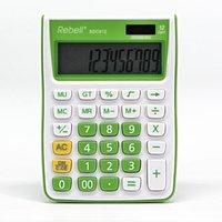 Rebell Kalkulačka RE-SDC912GR BX, zelená, stolní, dvanáctimístná