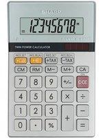 Sharp Kalkulačka EL-330ER, stříbrná, kapesní, osmimístná