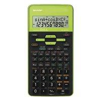 Sharp Kalkulačka EL-531THGR, černo-zelená, školní