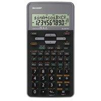 Sharp Kalkulačka EL-531THGY, černá, školní