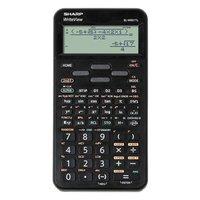 Sharp Kalkulačka EL-W531TL, černá, vědecká, bodový displej, plastový kryt