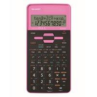 Sharp Kalkulačka EL-531THBPK, černo-růžová, školní