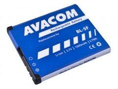 Avacom baterie pro Nokia N95, E65, Li-Ion, 3.6V, GSNO-BL5F-S1000A, 1000mAh, 3.6Wh, náhrada za BL-5F