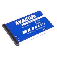 Avacom baterie pro Nokia 5530, CK300, E66,05530, E75, 5730, Li-Ion, 3.7V, GSNO-BL4U-S1120A, 1120mAh,