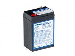 Avacom olověný akumulátor pro svítilny F1 6V, 4.5Ah, PBXX-6V004,5-F1A