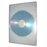 Box na 1 ks DVD, super clear, 14mm