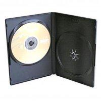Box na 2 ks DVD, černý, slim, 9mm, 100-pack, cena za 1 ks