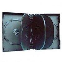Box na 10 ks DVD, černý, 33mm