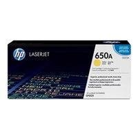 HP originální toner CE272A, yellow, 15000str., HP 650A, HP LaserJet CP5525n, CP5525dn, CP5525xh