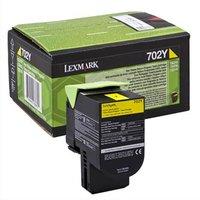Lexmark originální toner 70C20Y0, yellow, 1000str., return, Lexmark CS510de, CS410dn, CS310dn, CS310