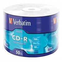 Verbatim CD-R, 43787, DataLife, 50-pack, 700MB, Extra Protection, 52x, 80min., 12cm, bez možnosti po