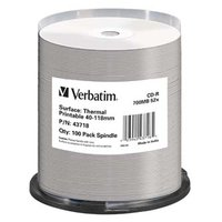 Verbatim CD-R, 43718, Thermal Surface For Rimage Prism, 100-pack, 700MB, 52x, cake box, pro archivac