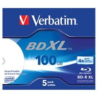 Verbatim BD-R XL, Hard Coat, jewel box, 43789, 4x, 1 ks, pro archivaci dat