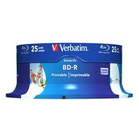 Verbatim BD-R SL, Hard Coat protective layer 25GB, spindle, 43811, 6x, 25-pack, pro archivaci dat