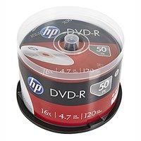 HP DVD-R, DME00025-3, 69316, 50-pack, 4.7GB, 16x, 12cm, cake box, bez možnosti potisku, pro archivac