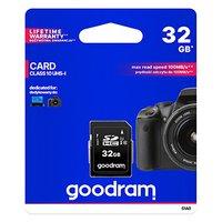 Goodram Secure Digital Card, 32GB, SDHC, S1A0-0320R11, S1A0-0320R12, UHS-I U1 (Class 10)