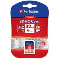 Verbatim Secure Digital Card, 32GB, SDHC, 43963, UHS-I U1 (Class 10)