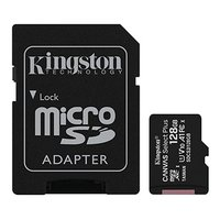 Kingston paměťová karta Canvas Select Plus, 128GB, micro SDXC, SDCS2/128GB, UHS-I U1 (Class 10), s a