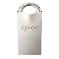 Apacer USB flash disk, 2.0, 16GB, AH117, stříbrný, AP16GAH117S-1