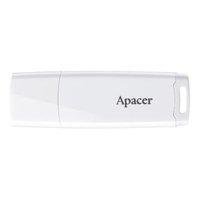 Apacer USB flash disk, 2.0, 16GB, AH336, bílý, bílá, AP16GAH336W-1, s krytkou