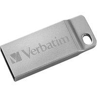 Verbatim USB flash disk, 2.0, 16GB, Store,N,Go Metal Executive, stříbrný, 98748