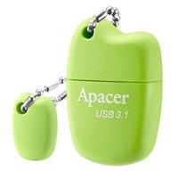 Apacer USB flash disk, 3.1, 32GB, AH159, zelená, AP32GAH159G-1, s krytkou