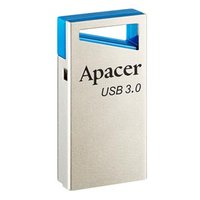 Apacer USB flash disk, 3.0, 32GB, AH155, stříbrný, stříbrná, AP32GAH155U-1