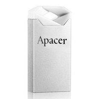 Apacer USB flash disk, USB 2.0, 32GB, AH111, stříbrný, AP32GAH111CR-1, USB A